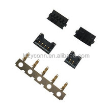 UL certified black gold flash 1.2mm pitch wire to board connector replaces Molex78171/78172