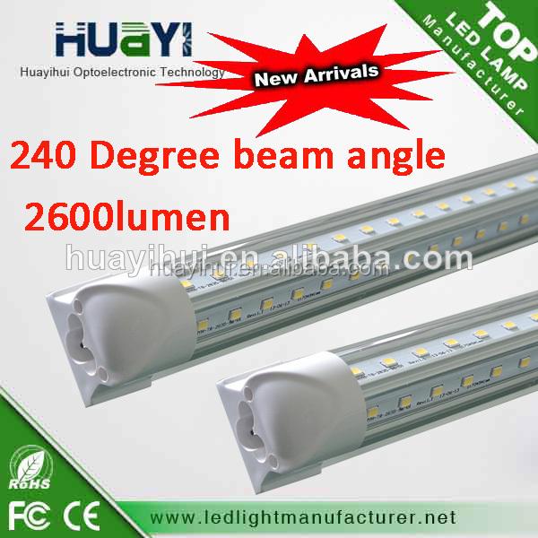 China High Luminous OEM Factory 4ft,5ft,6ft,8ft LED Tube Light
