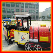 Best price children games kids trackless train tourist train for sale