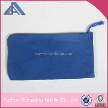 polyester logo printed microfiber sunglasses bags/pouch