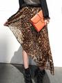 личностные Асимметричные юбки из шифона в моде