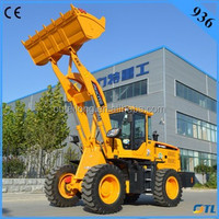 Best price china snow cleaning machines 936 with snow bucket & snow tire