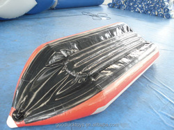 inflatable pvc boat inflatable banana boat for sale