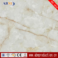 80x80 3D glossy glazed polished porcelain home floor grey marble
