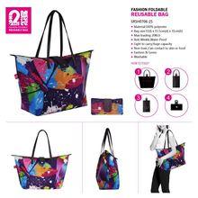 Foldable Bag Hanger With Mirror Fashionable Non Woven Foldable Bag