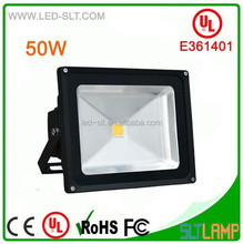 Lowest price DLC UL china security light, led flood light 50w