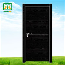 Mahogany and walnut High Level solid interior wooden door special for Europe YM-5828