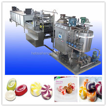 Automatic high efficiency hard candy depositing production machine
