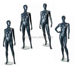 matt grey female mannequin with egg head,new female mannequin,mannequin display