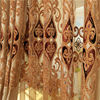 Curtain manufacturer wholesale make beautiful new design polyester embroidered curtain fabric names