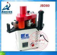 JBD80 carpintería borde portátil máquina anillador