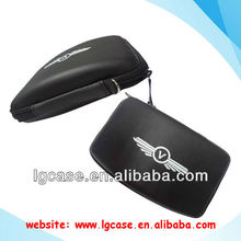 Customized 5 inch leather hard disk drive carrying case