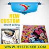 Customized cute cartoon design hello kitty laptop sticker