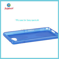 new arrivel high quality TPU bumper case for sony xperia m2