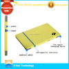 2015 Ultra-thin OEM logo printing credit card size power bank with built in charge cable slim power banks made in china