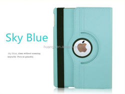 New arrival Lychee Pattern Folder 360 Degree Rotation Leather Case for ipad air 2 rotating case china wholesale