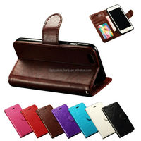 Soft PU Leather Folio Stand Cover Case For Apple iPhone 6 4.7 Inches With Card Pouch