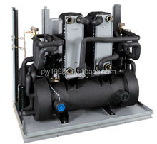High COP Water Water Heat Pump Trinity System Heating Cooling and Hot Water High BTU & Low Noise