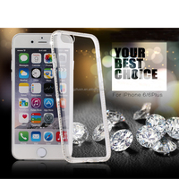 Luxury Rhinestone Crystal Bling Case For iPhone 6 /6 plus iphone6 diamond studded cell phone case