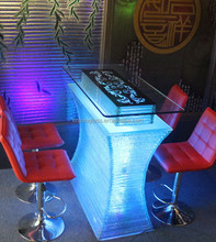 Modern Bar Furniture for Casino, LED table casino