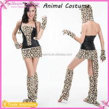 Venta al por mayor Sexy traje de adultos niña disfraz de Animal para el adulto
