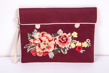 embroidery Factory Customized Popular jade bead Laptop Soft Case Sleeve Bag For 10 11 13 14 15 for Macbook Ipad Bag Felt