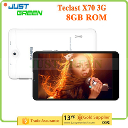 3g tablet Teclast X70 3G phone call 7 inch IPS 1024*600 tablet In-tel 1GB 8GB GPS Dual SIM Card Android 4.4 tablet android