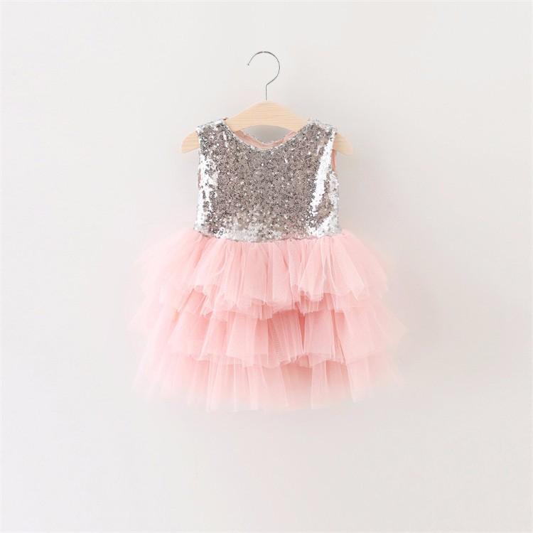 2016 niño princesa niña vestido de niño recién nacido 1 año ...