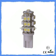HOT selling!! 12v T10 WEDGE 25smd 3528 led auto light T10 194 led auto lamp