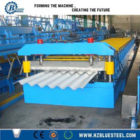 New Design Factory Price Fully Automatic Roof And Wall Corrugated Painted Steel Roll Forming Machine