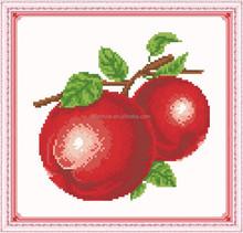 """Red Apple"" New 5D round crystal diy diamond painting"