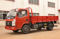 China Made Dongfeng Brand 120HP 4X2 Small Utility Truck