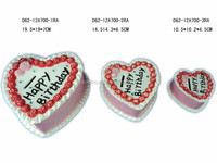 Ceramic mini birthday cake piggy money coin box