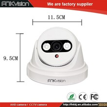 China manufacturer 1MP 720P HD 3mp IR CUT ahd dome camera Night Vision Camera FCC,CE,ROHS Certification cctv camera company