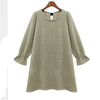 D24337Q 2014 the new autumn Europe fashion women sweet knitted dress