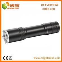 Flashlight Factory Cheap Price Outdoor Used High Power Long Beam Distance Aluminum 5watt best cree led flashlight