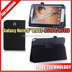 """leather case for samsung galaxy note 8 n5100 For Samsung Galaxy Note 8"""" 8.0 Tablet GT-N5100/N5110 Smart Cover"""