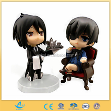 Custom made anime figure toy Japenese cartoon figure model plastic action figures