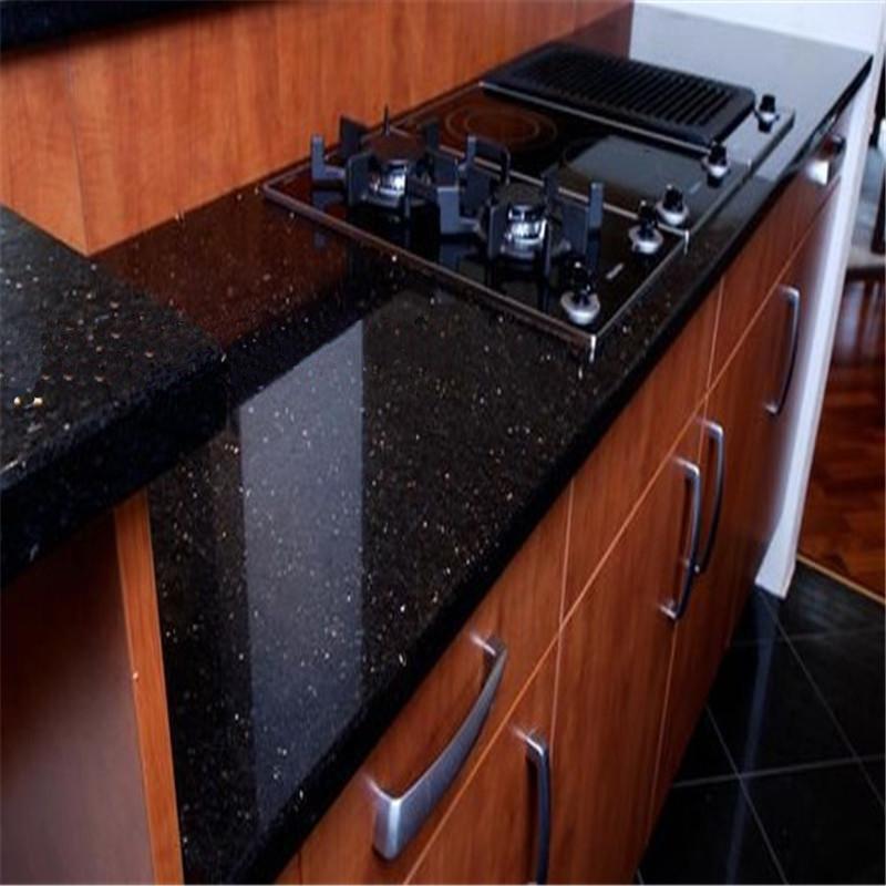 galaxy noir marbre pour comptoir de cuisinemarbreid de