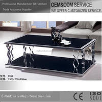 Best quality useful stainless steel leg dining tables