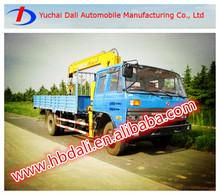 dongfeng 153 modelo de xcmg camión grúa venta caliente en china