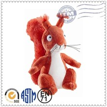 Best Quality Cute Cheap promotion stuffed animal squirrel