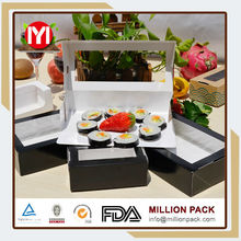 alibaba Cheap box for sushi beef, recyclable paper sushi box
