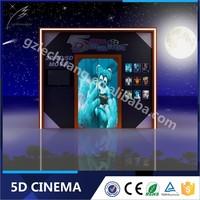 Lechuang New Products Amusement Park Equipment 5D 6D 9D Cinema Theater Movie Manufacturer