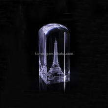 Clear Crystal 3d Laser Etched Grystal Cube For Gifts And Crafts