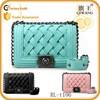 Guangzhou manufacturing new weave fashion shoulder bag chain bag for women