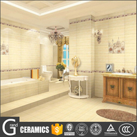 Interior decoration design of ceramic bathroom wall tiles in guangdong