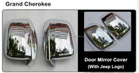 87 Car front mirror cover side door mirror covers for Jeep Compass 11-14 auto accessories, Chrome accessories