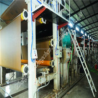 kraft paper making machine from OCC waste paper with excellent quality and competitive price