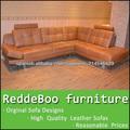 2014 más de moda sofá de cuero español de muebles en Shen Zhen fábrica de muebles